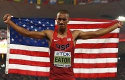 Легкая атлетика. ЧМ-2015. Эштон Итон установил новый мировой рекорд в десятиборье