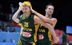 Баскетбол. Сборная Литвы обыграла Сербию и вышла в финал чемпионата Европы