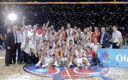 Баскетбол. Сборная Литвы в финале чемпионата Европы уступила команде Испании