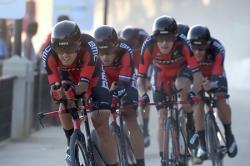Велоспорт. Американская BMC выиграла командную `разделку` чемпионата мира