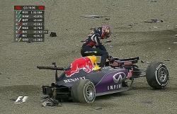 Формула-1. Тяжелая авария Даниила Квята, поул выиграл Нико Росберг