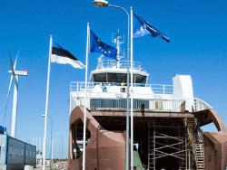 На линию между островом Кихну и городом Пярну выходит новый паром Kihnu Virve