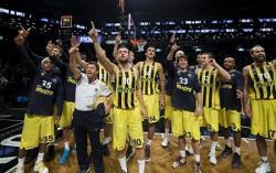 Баскетбол. Турецкий `Фенербахче` в матче Мирового тура Евролиги обыграл `Бруклин Нетс`