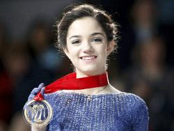 Фигурное катание. 15-летняя россиянка Евгения Медведева выиграла этап Гран-при в Милуоки