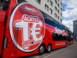 Автобусная фирма SuperBus начала продажу дешёвых билетов из Таллина в Нарву, Тарту и Пярну