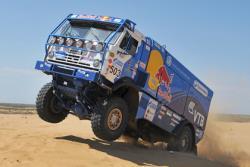 `Дакар-2016`: Экипаж Айрата Мардеева на КАМАЗе занял второе место в классе грузовиков