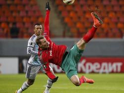 Футбол. Лига Европы. Два последних представителя России вылетели в первом раунде плей-офф