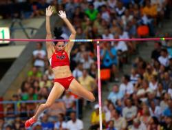 Легкая атлетика. Первое золото чемпионата мира выиграли Рено Лавиллени и Дженнифер Сур