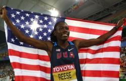 Легкая атлетика. Олимпийская чемпионка Бриттни Рииз выиграла шестое золото первенств мира