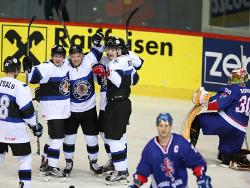 Хоккей. ЧМ-2016. Сборная Эстонии во втором туре проиграла Великобритании в овертайме