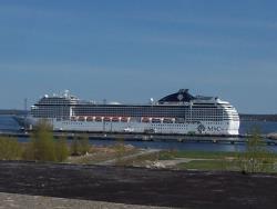 Таллинский порт планирует принять за 2016 год около 460 000 круизных туристов