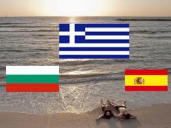 Туристы из Эстонии предпочитают летом отдыхать в Греции, Болгарии или Испании