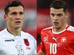 Футбол. ЧЕ-2016. Швейцария выиграла у Албании первый в истории турнира `Братский матч`