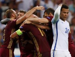 Футбол. ЧЕ-2016. Россияне на последних секундах свели вничью матч со сборной Англии