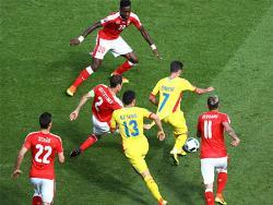 Футбол. ЧЕ-2016. Поединок сборных Румынии и Швейцарии завершился боевой ничьей - 1:1