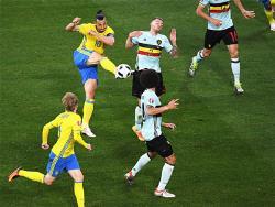 Футбол. ЧЕ-2016. От группы `E` в плей-офф пробились три команды, выбыла лишь Швеция
