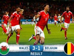 Футбол. ЧЕ-2016. Вторыми полуфиналистами стали валлийцы, выбившие в четвертьфинале Бельгию