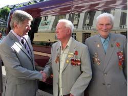 Ветераны Эстонского стрелкового корпуса отправились в поездку в Великие Луки