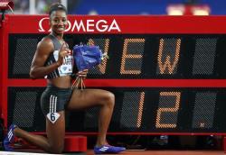 Легкая атлетика. Кендра Харрисон побила мировой рекорд, но не попала в сборную США
