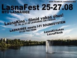 В последние выходные августа в Таллине пройдёт первый минифестиваль LasnaФест
