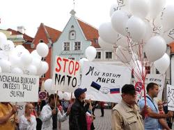 В столице Эстонии прошёл Марш мира: «С соседями надо дружить, а не воевать!»
