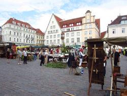 На таллинской Ратушной площади пройдёт ярмарка национальных меньшинств Эстонии