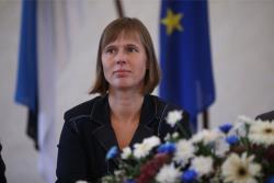 Парламент Эстонии выбрал пятым президентом страны Керсти Кальюлайд