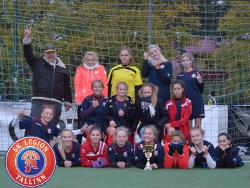 Девушки ФК `Легион` стали чемпионками Эстонии в возрастной категории до 17 лет
