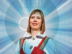 Первая в истории Эстонии женщина-президент Керсти Кальюранд вступила в должность