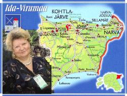 Ирина Голикова: О сотрудничестве молодёжи Ида-Вирумаа с местными самоуправлениями