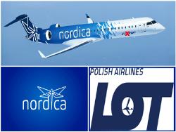 Вместо словенцев - поляки: Эстонская авиакомпания Nordica сменила партнёра по перевозкам