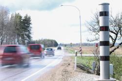 С декабря 2016 года полиция Эстонии будет высылать штрафы с видеокамер и за границу