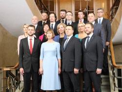 Правительство Эстонии под руководством премьер-министра Юри Ратаса приступило к работе