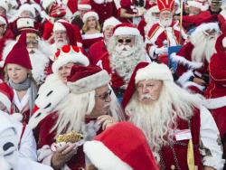 Эстонский ответ Копенгагену: В городе Валга пройдёт 16-й конгресс Санта Клаусов