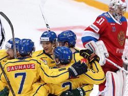 Хоккей. Евротур. Сборная Швеции переиграла россиян в стартовом матче Кубка Первого канала