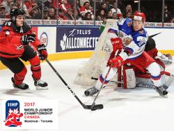Хоккей. МЧМ-2017. Российская `молодёжка` стартовала поражением от канадцев со счётом 3:5