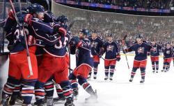 НХЛ-2016/17. `Коламбус` продлил лучшую победную серию в ХХI веке, выиграв 15-й матч кряду