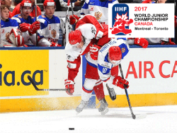 МЧМ-2017. Россия выиграла четвертьфинал у Дании. В 1/2 финала также США, Швеция и Канада