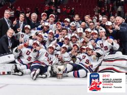 Хоккей. МЧМ-2017. США в финале победили по буллитам Канаду, выиграв турнир в четвёртый раз