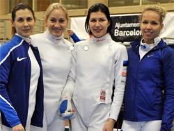 Фехтование. Кубок мира. Эстонская четвёрка шпажисток заняла второе место в Барселоне