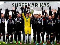 Футбол. FCI Tallinn забил `Флоре` пять безответных голов и выиграл Суперкубок Эстонии-2017