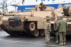 В Эстонии начинается развертывание батальонной тактической группы НАТО