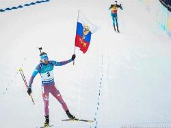 Биатлон. Россиянин Антон Шипулин выиграл гонку преследования в норвежском Холменколлене