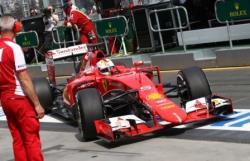 Формула-1. Немец Себастьян Феттель принес победу `Феррари` в первой гонке сезона