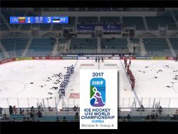 Хоккей. ЮЧМ-2017. Выиграв у Литвы прибалтийское дерби, Эстония завоевала серебряные медали