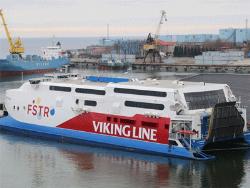 Компания Viking Line вывела на линию между столицами Эстонии и Хельсинки катамаран FSTR