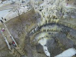 У самого высокого водопада Эстонии Валласте будет построена новая смотровая площадка