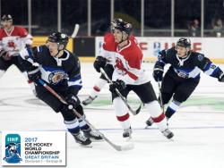 Хоккей. ЧМ-2017. Дивизион IB. Сборная Эстонии в первом туре проиграла команде Литвы - 0:3
