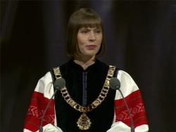 Президент Эстонии Керсти Кальюлайд убеждена, что `Бронзовая ночь` в Эстонии не повторится