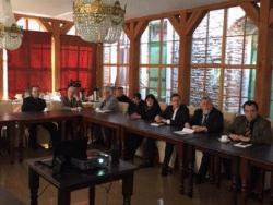 Активисты русской общины Эстонии отметили 10-летие `Бронзовых ночей` памятным мероприятием
